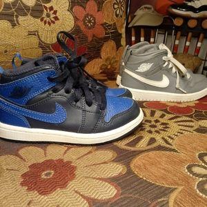 2 Pair Lot Air Jordan 1 AJ1 Sz 11C
